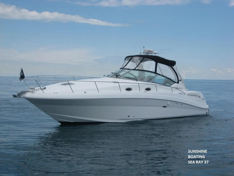 Sunshine Boating 37 Sea Ray