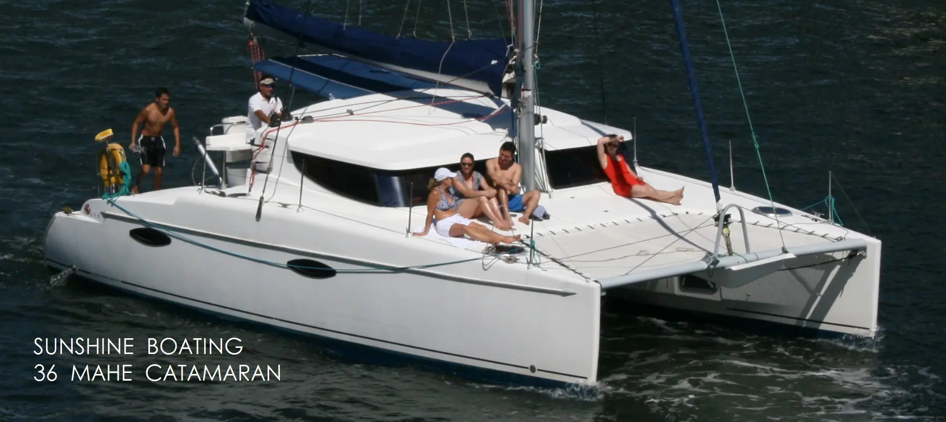 Catamaran Rental In Miami Amp Fort Lauderdale FL Sunshine