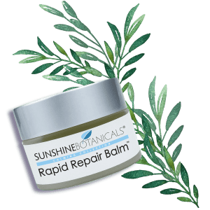 Rapid Repair Balm - A potent, botanical alternative to petroleum jelly and traditional pharmaceutical skin ointments.