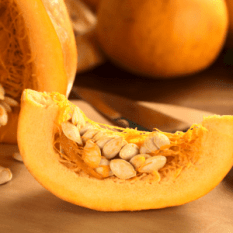 Pumpkin Enzyme is packed with fruit enzymes and natural alpha-hydroxy acids, which increase cell turnover, to brighten and smooth the skin.