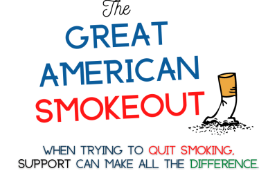 The Great American Smokeout is Nov. 19th