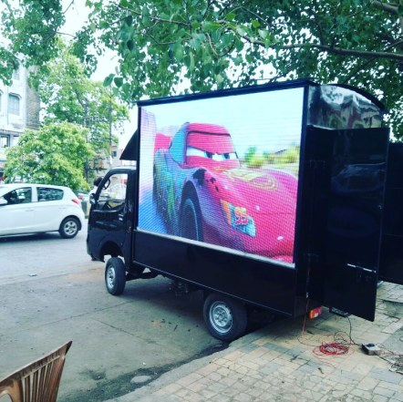 Led Advertising Mobile Van