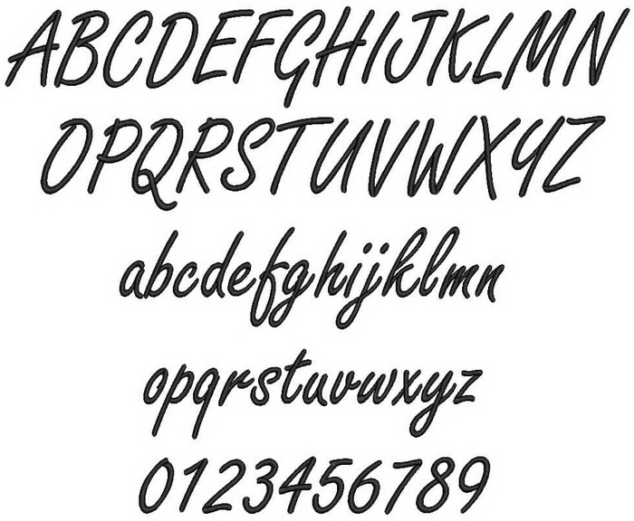 Download Mongolian Font Freestyle Script Bold
