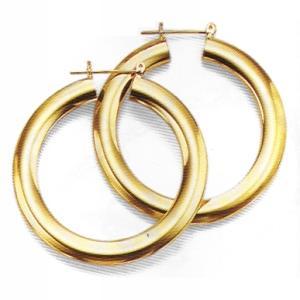 43MM Ultra Modern Hoop Earrings at www.SunshineJewelry.com
