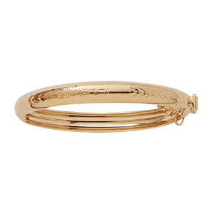 Kid'S Open & Close Bella Bangle at www.SunshineJewelry.com