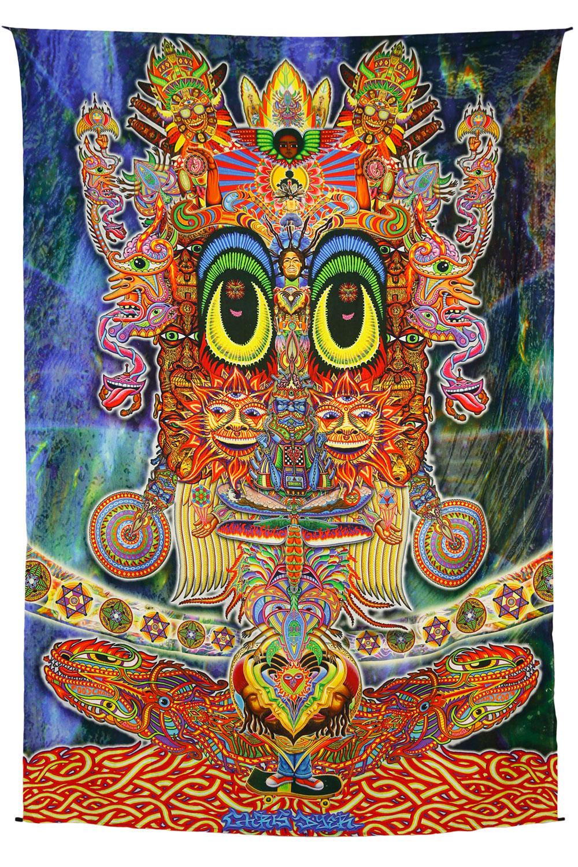 Chris Dyer Skater Heady Digital Art Print Tapestry
