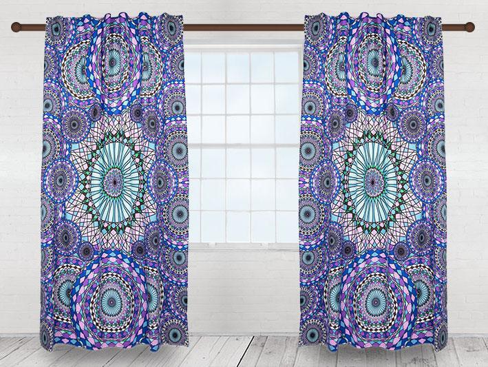Single Panel Tapestry Curtains by Sunshine Joy  Sunshine Joy