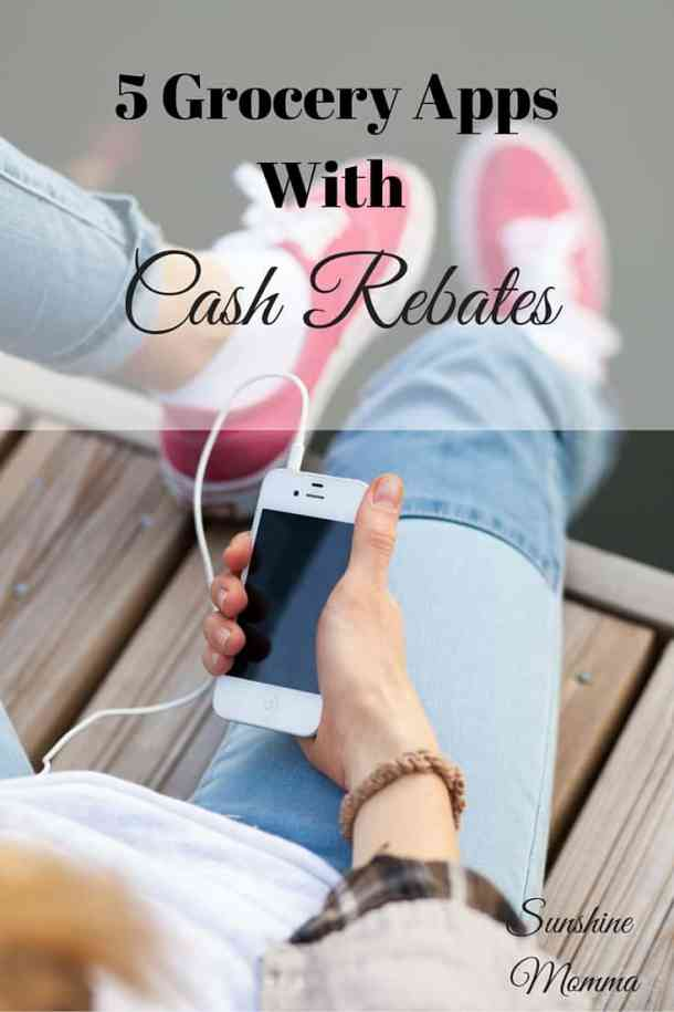 5 Grocery Apps With Cash Rebates