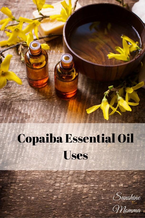 Copaiba Essential Oil Uses