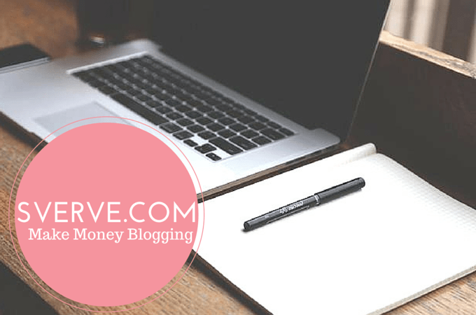 Sverve: Make Money Blogging