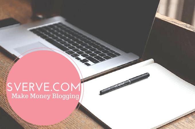 Sverve: Make Money Blogging