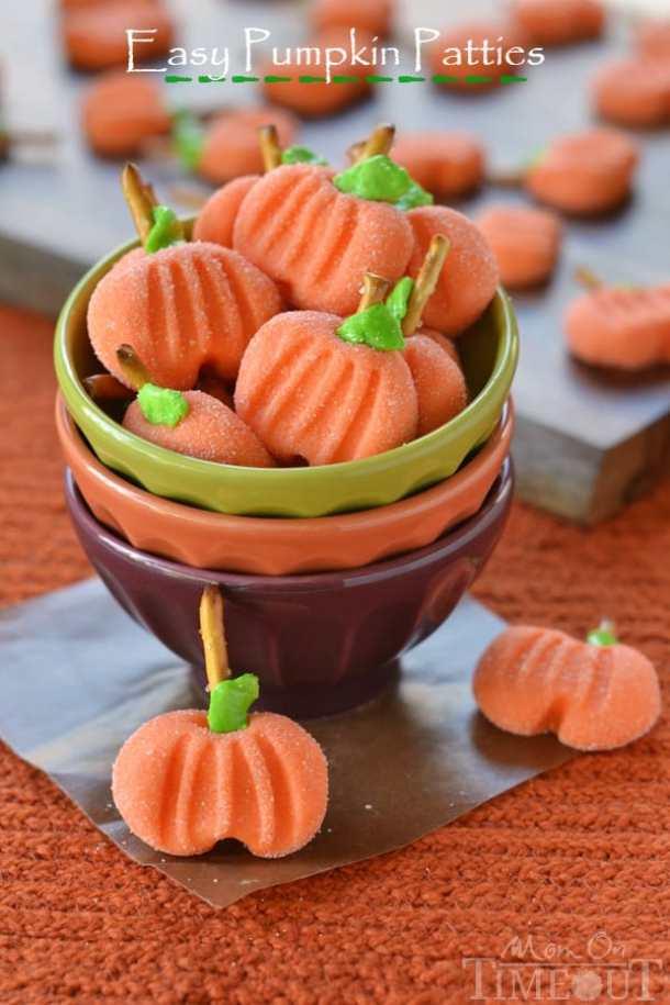 Easy Pumpkin Patties