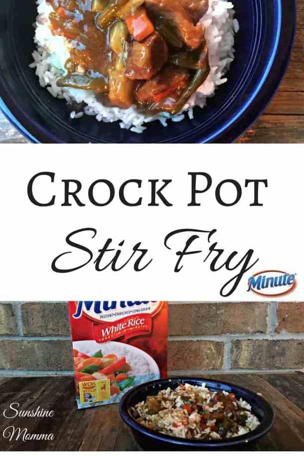 Crock Pot Stir Fry