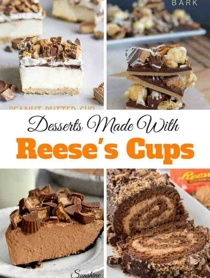 Desserts Made With Reese's Cups