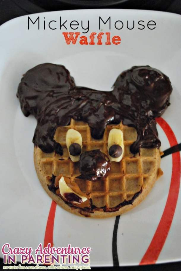 Mickey Mouse themed food