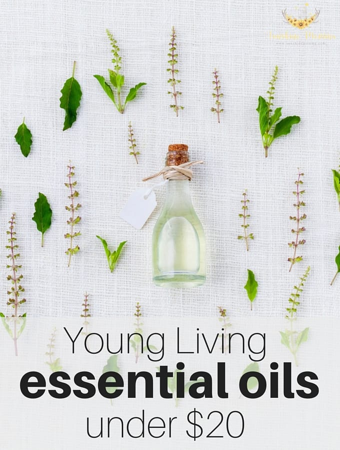 Young Living essential oils under $20