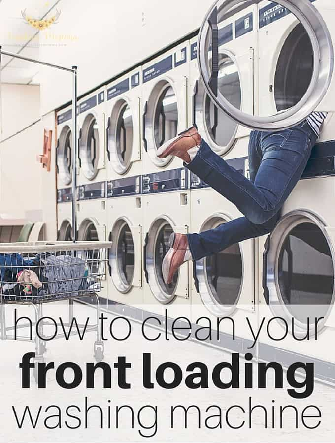 How to clean your front loading washing machine- Sunshine Momma
