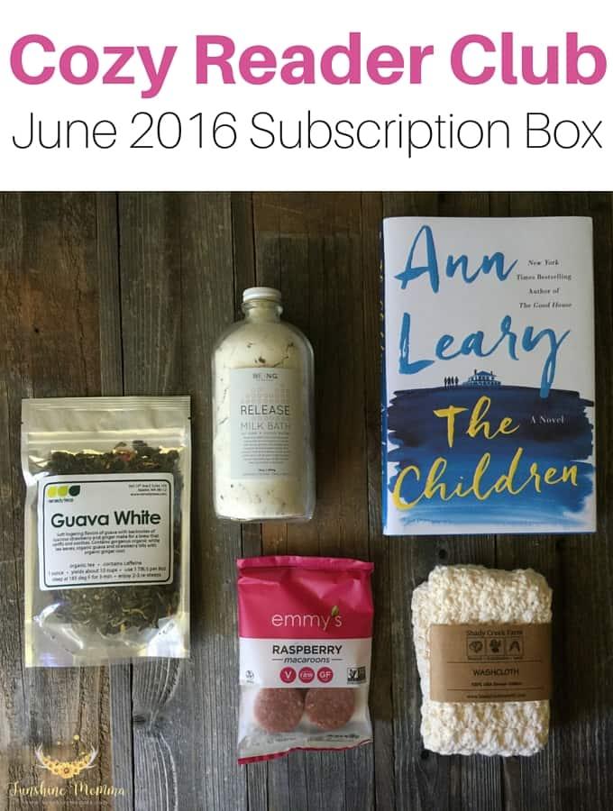 Cozy Reader Club Subscription Box (June 2016)