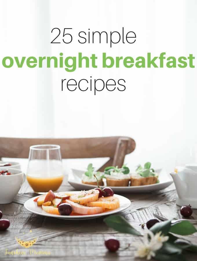 Overnight Breakfast Recipes