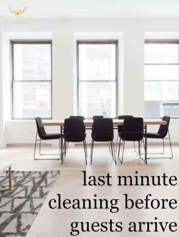 5 Things to Clean Before Your Guests Arrive