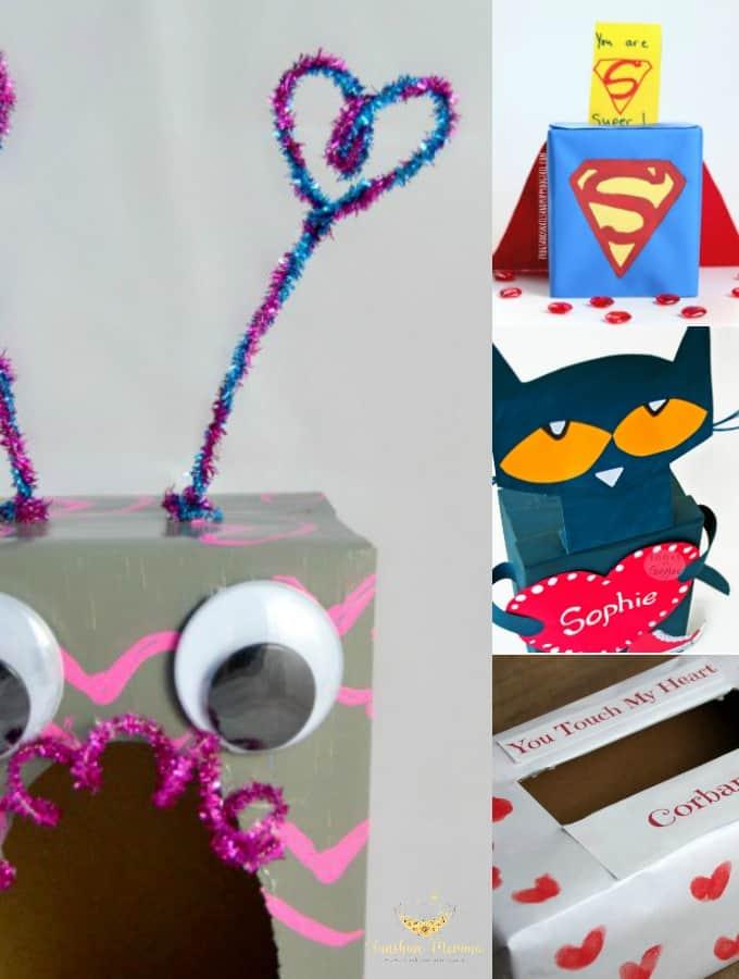 DIY Valentine Boxes for Kids