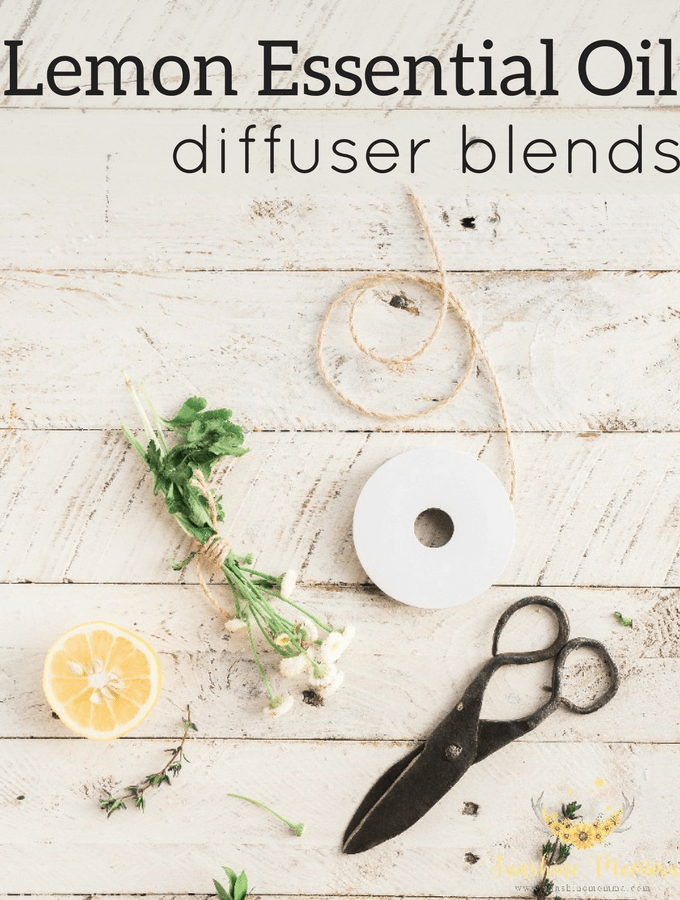 Lemon Essential Oil Diffuser Blends