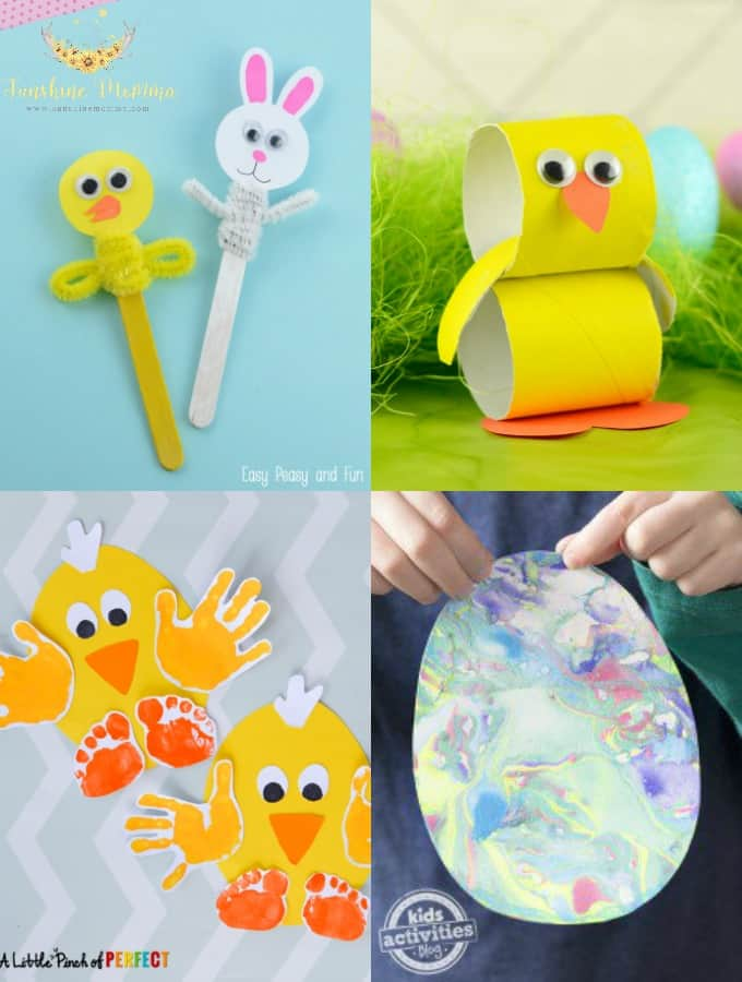 15 Simple Kids Crafts For Easter Sunshine Momma