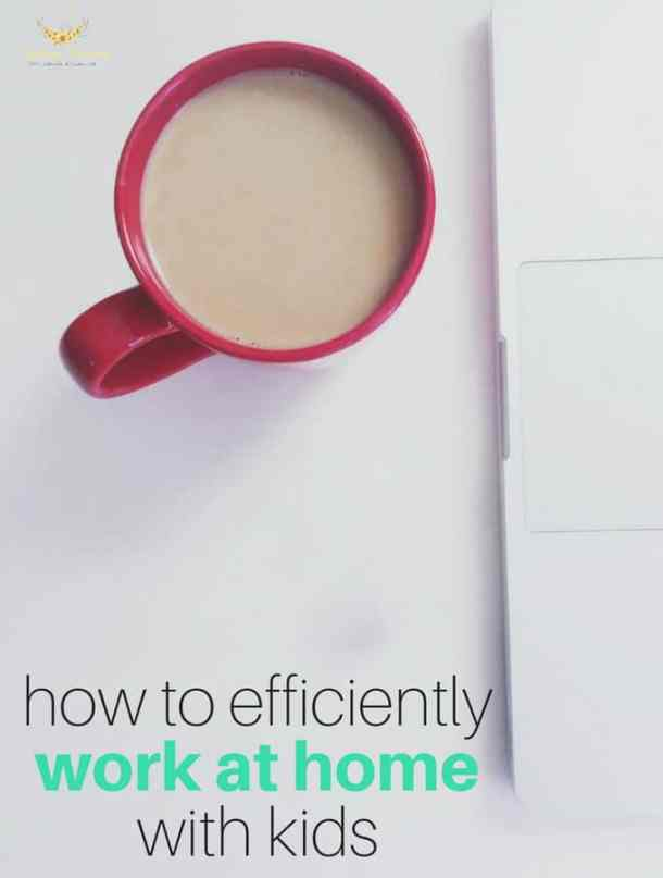 How to Efficiently Work at Home with Kids