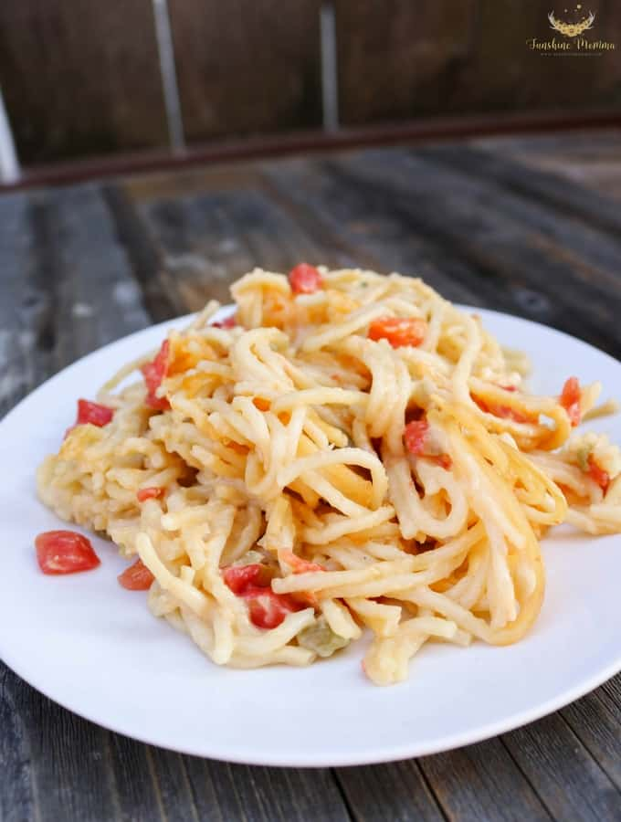 Texas Chicken Spaghetti Recipe