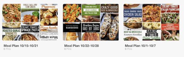 Life Changing Meal Planning Hacks