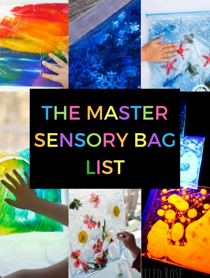 The Master List of Sensory Bags