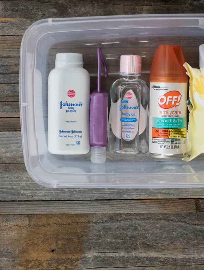 Summer Emergency Car Kit