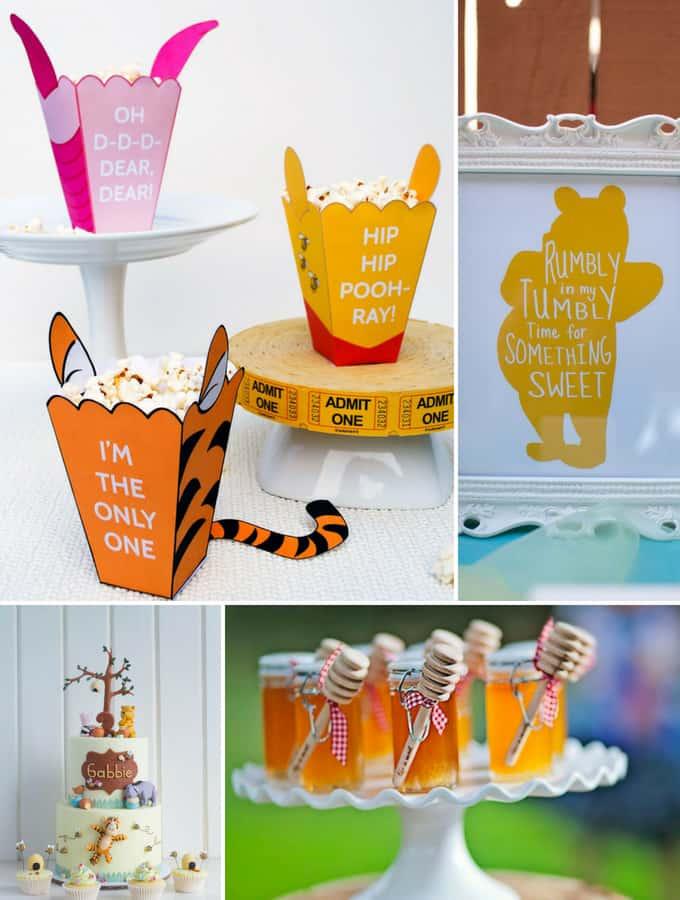 Winnie the Pooh Birthday Party Ideas