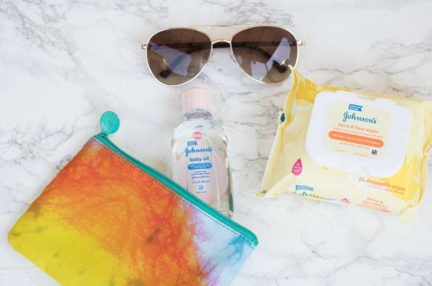 DIY Baby Oil Sugar Scrub + Summer Beauty Hacks