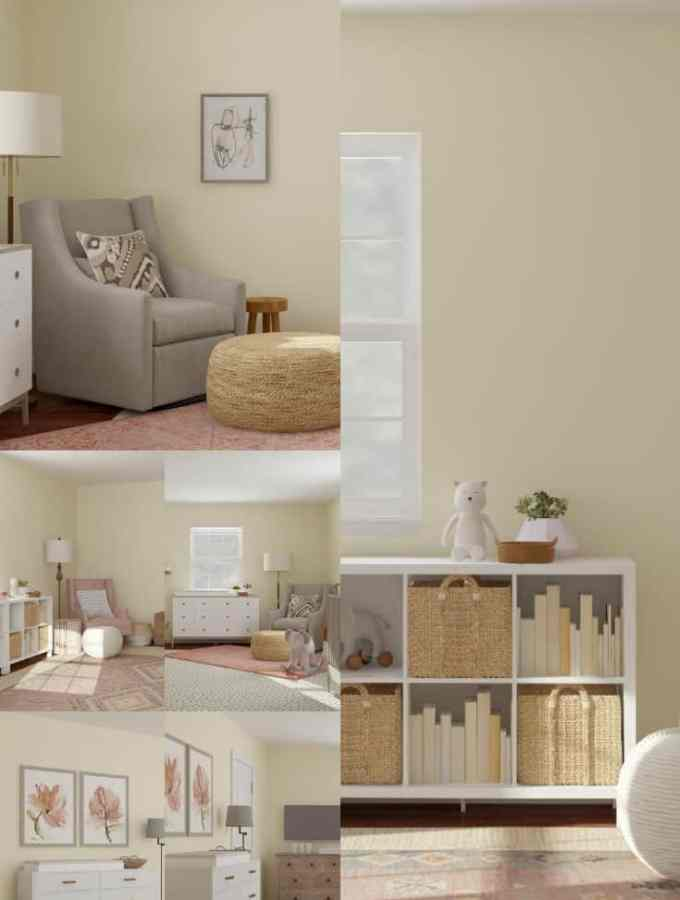Warm & Neutral Girl Nursery