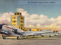 Atlanta Airport in the 1940s - Sunshine Skies