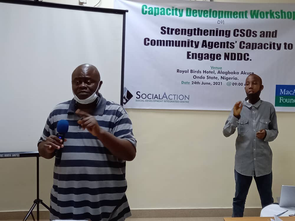 Interrogate NDDC Operations, Spending —Civil Society orgs tell People of Oil Producing