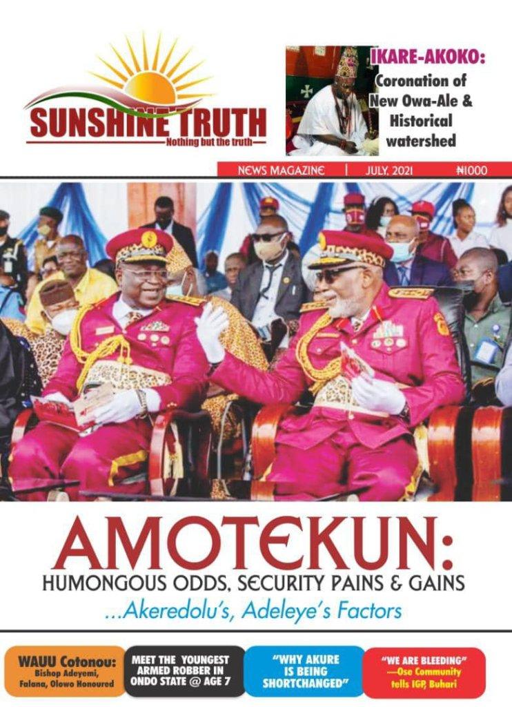 Late Dr Wahaab Adegbenro was lucky —Akeredolu