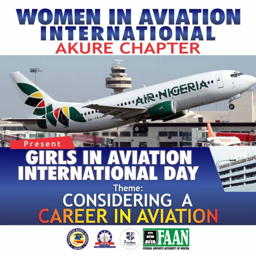 WAI celebrates '2021 Girls in Aviation Int'l Day' in Akure Sept 25