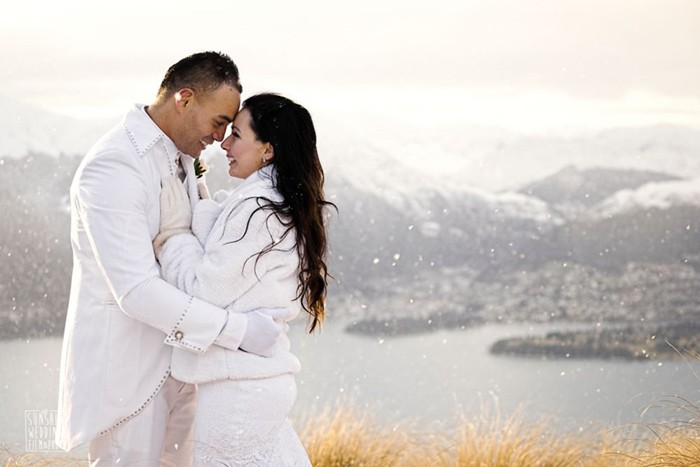 Queenstown winter wedding planner