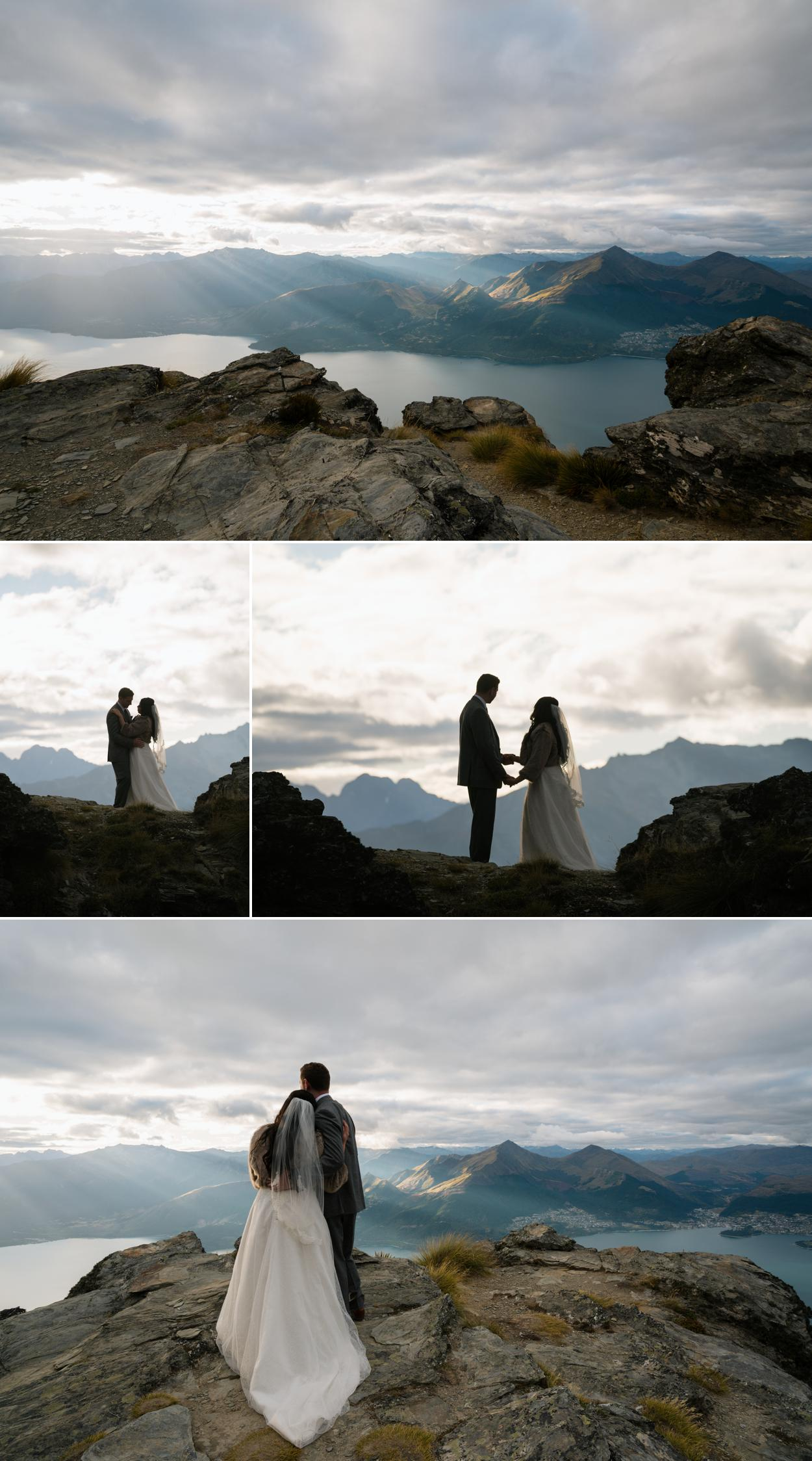 new zealand heli weddings