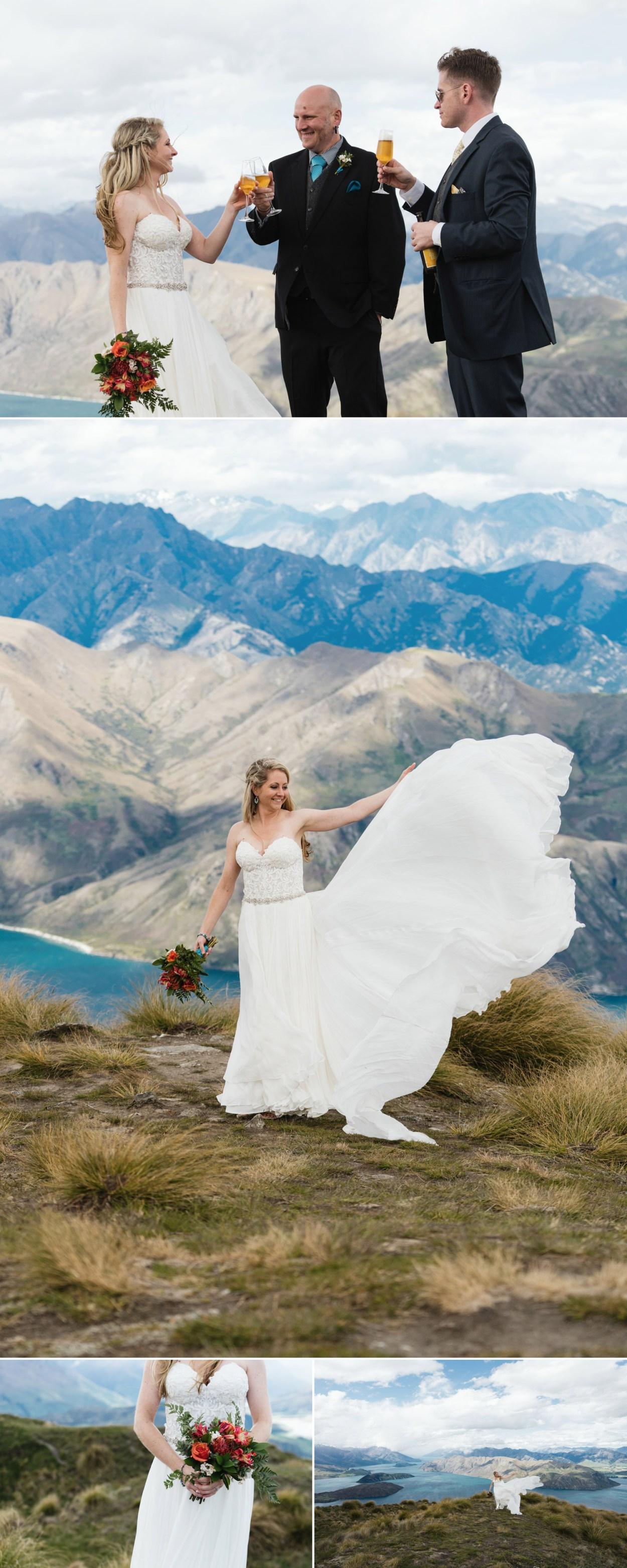 mount roy wedding