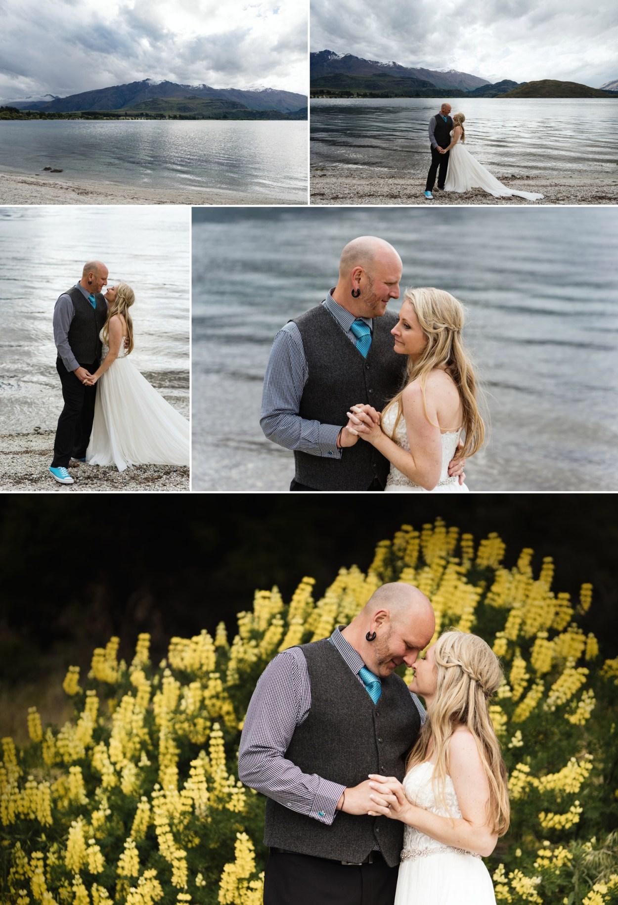 lake wedding new zealand