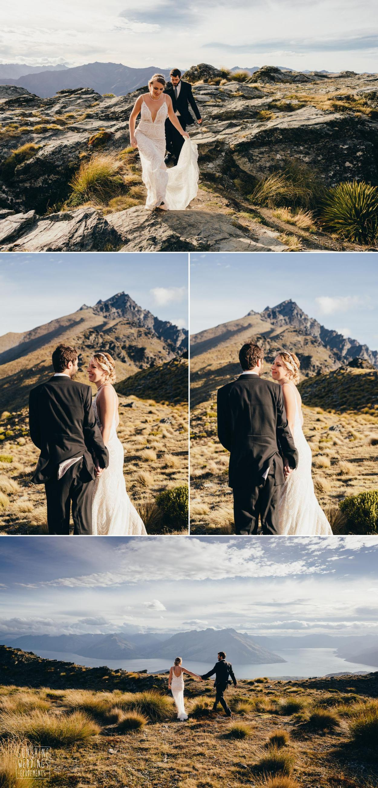 The Remarkables wedding