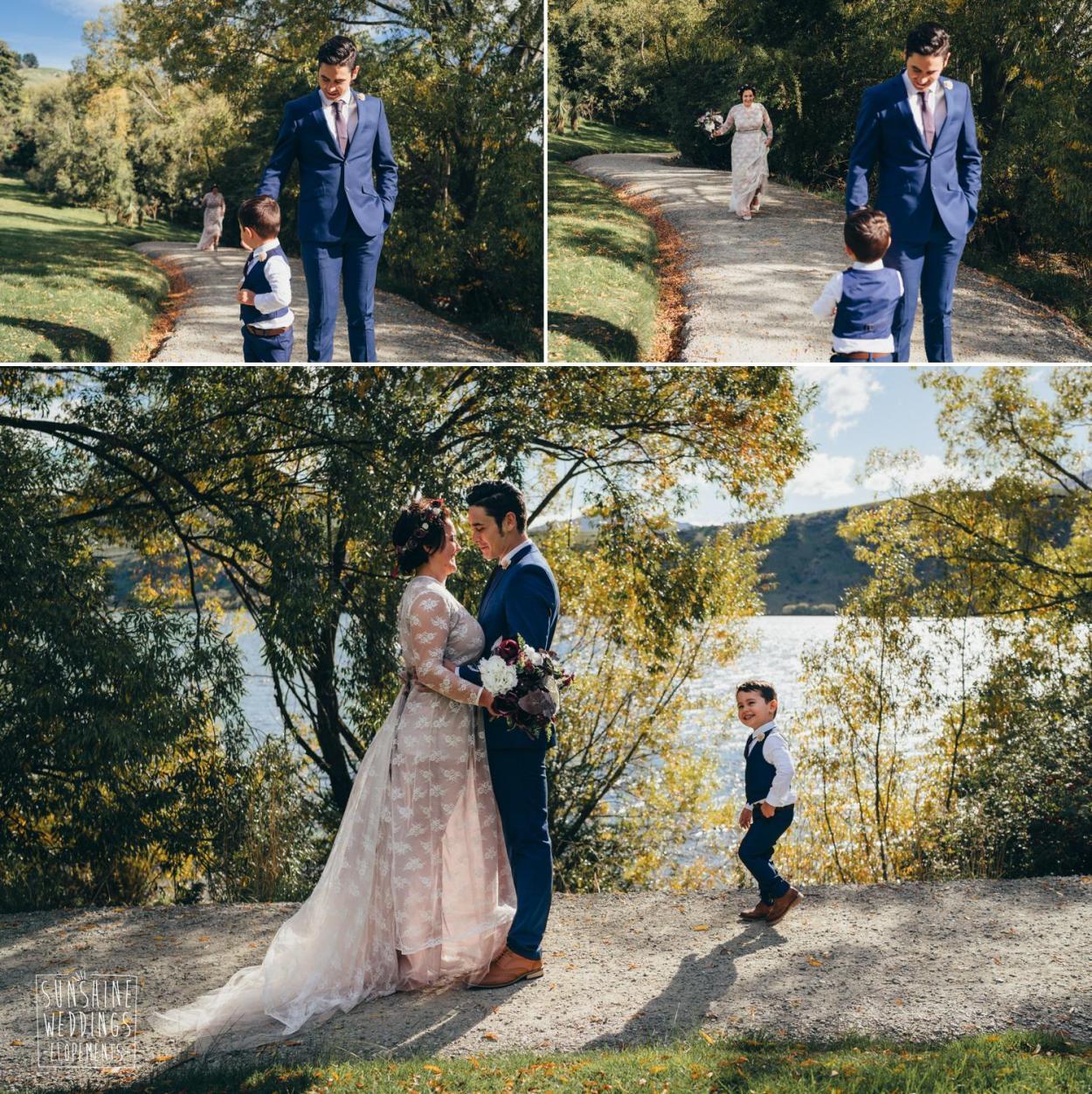 Lake Hayes wedding photographer