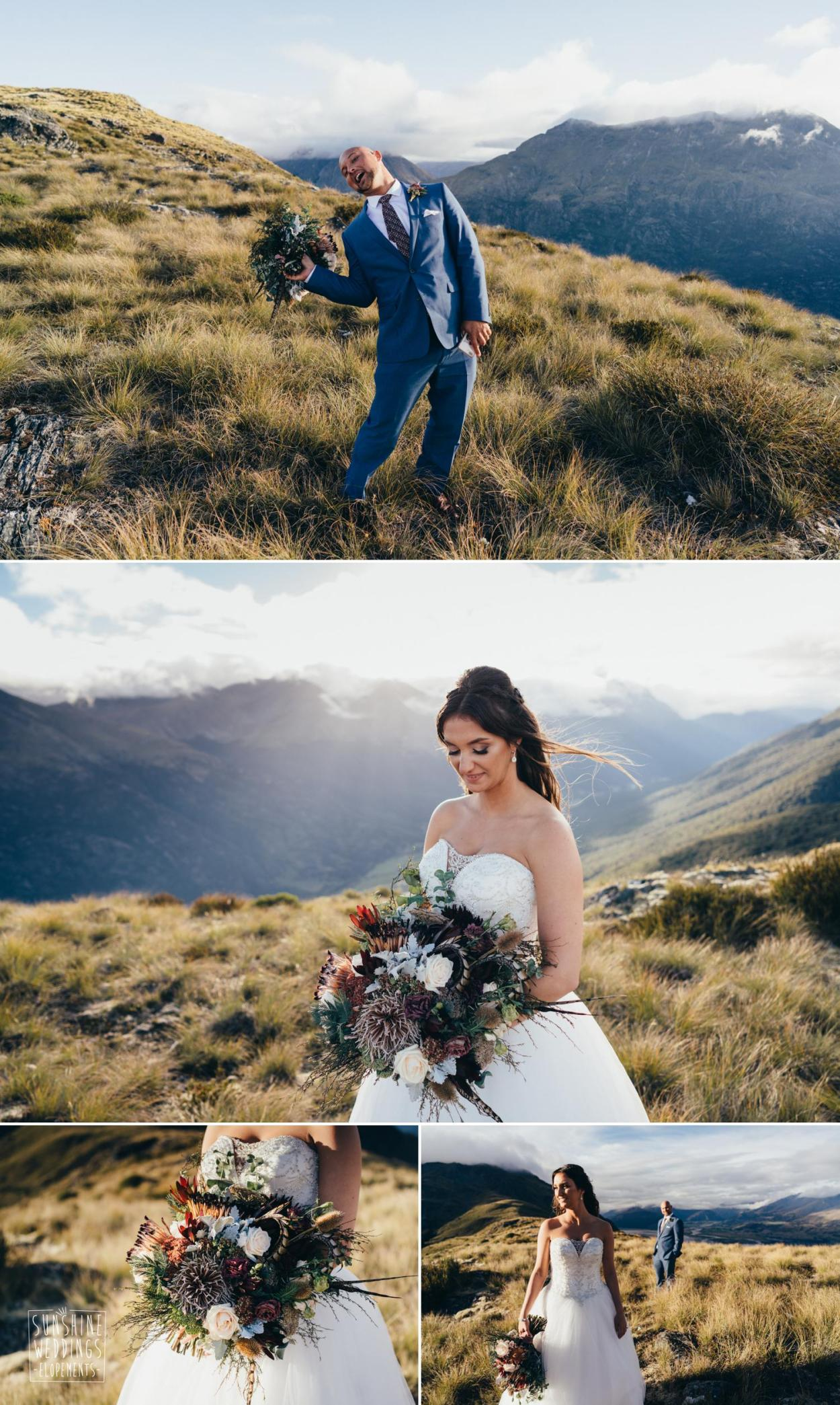 Queenstown mountain wedding planner