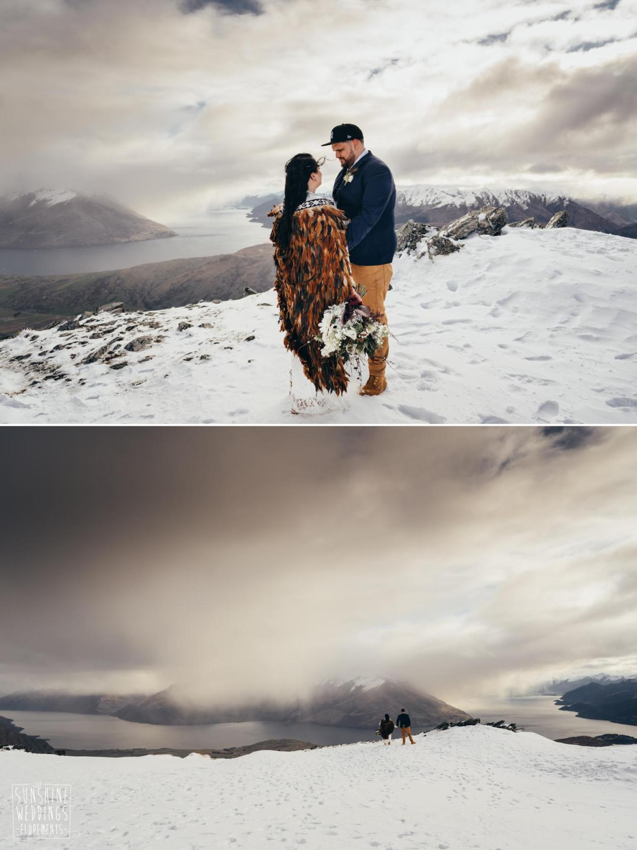 The Remarkables heli wedding