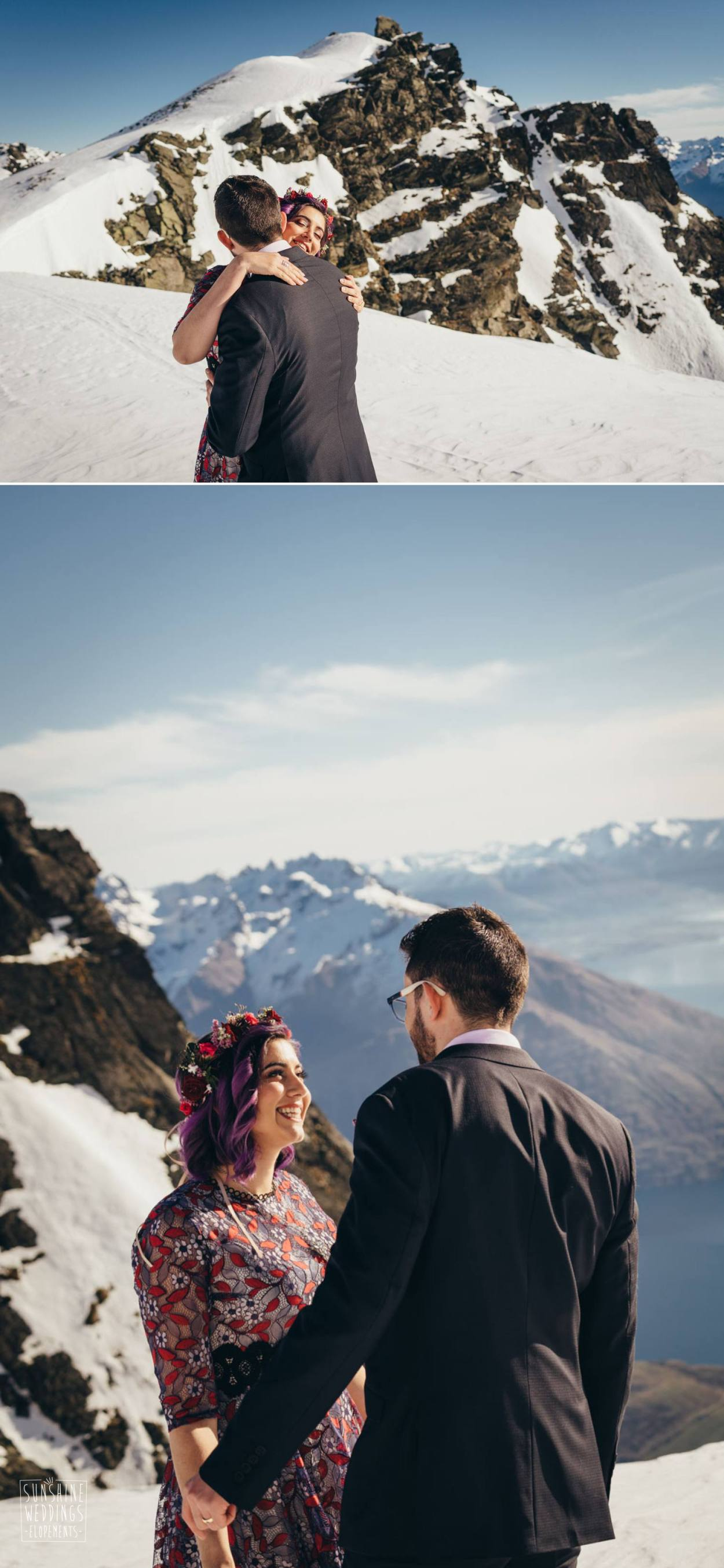 Wedding on The REmarkables