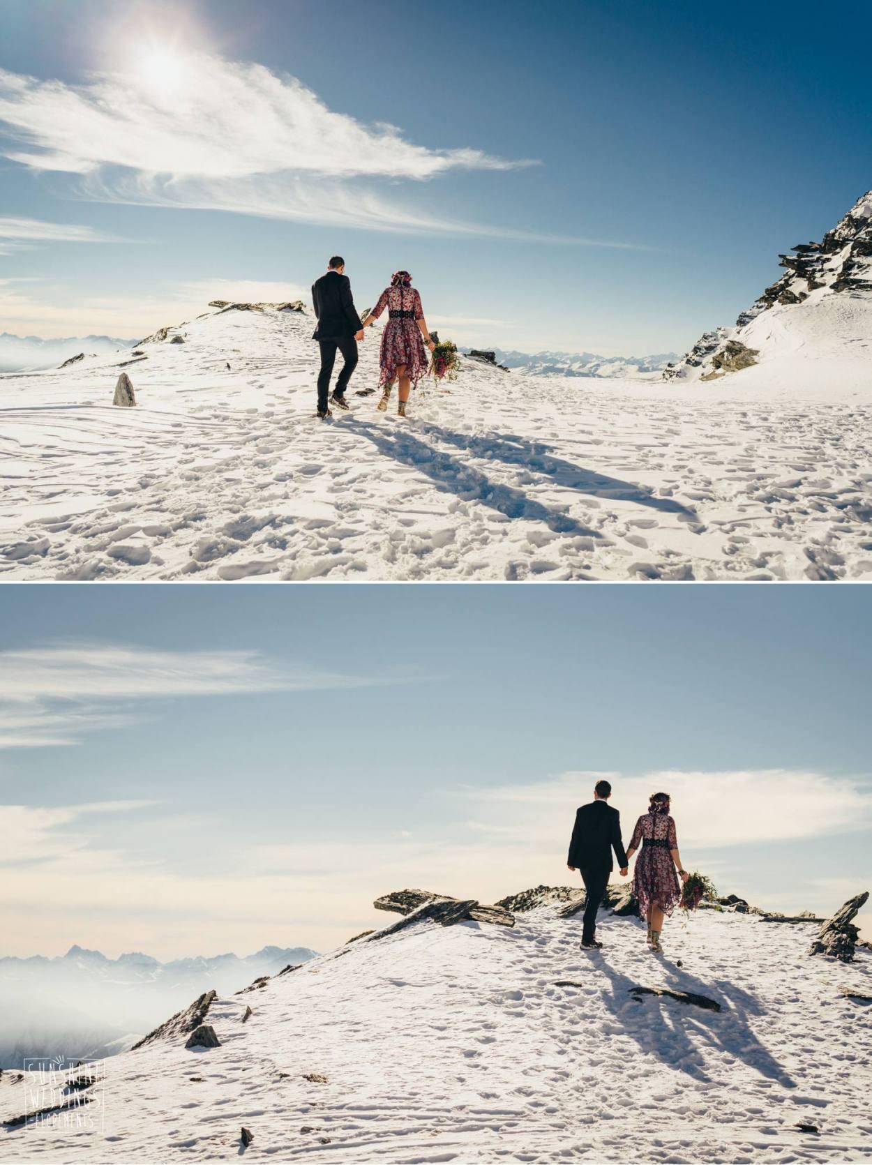 Mountain destination wedding