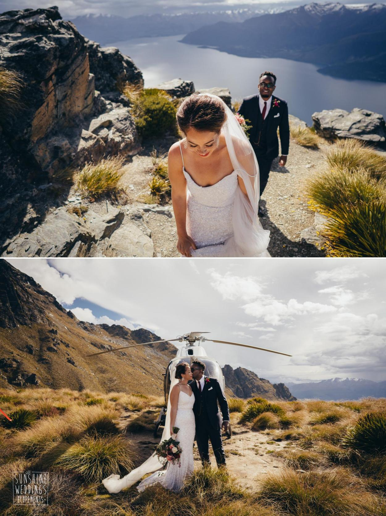 Mountain wedding photographer Queenstown